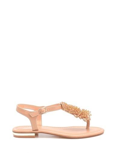 Derimod Kadın Sandalet(D9012) Klasik Bej